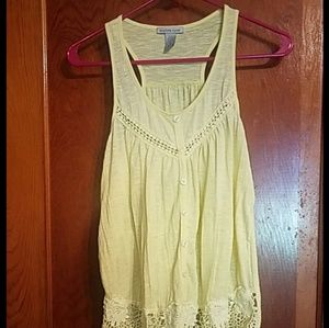 Yellow Charlotte Russe Tank Top
